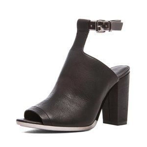 3.1 Phillip Lim Vincent Leather Mule Black 40